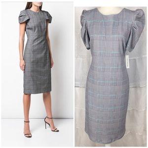 NWT Shelby & Palmer Women's Plaid Sheath Dress, 12
